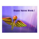Customisable Nurses Week Postcards