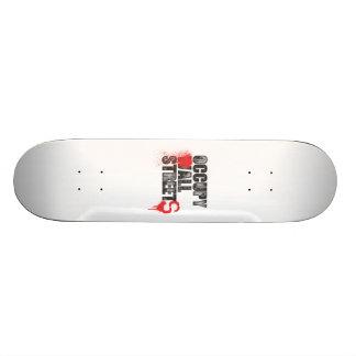 Customisable OCCUPY ALL STREETS Skateboard