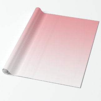 Customisable Pale Pink Fade Wrapping Paper