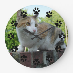 Customisable pet wall clock