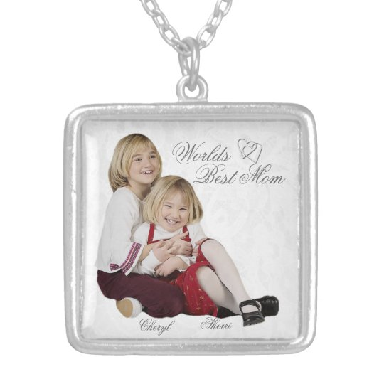 Customisable Photo Keepsake Mother's Day Necklace