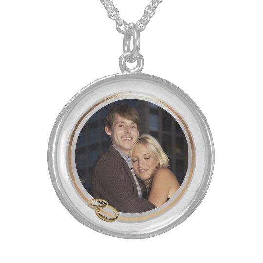 Customisable Photo Keepsake Wedding Necklace