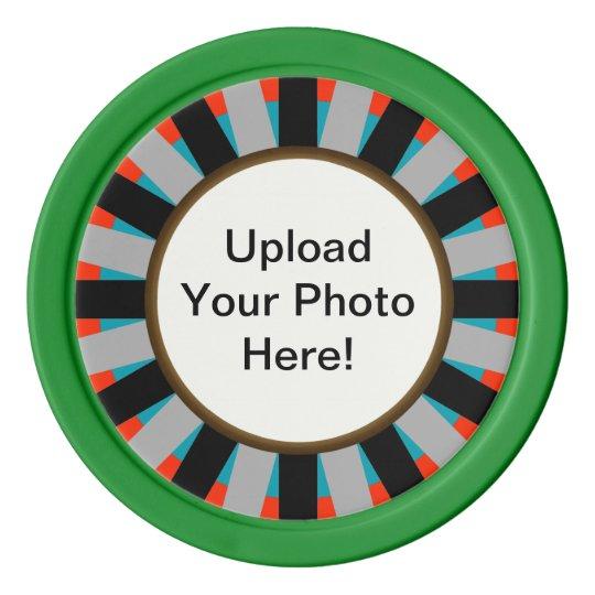 Customisable Photo Upload Poker Chips