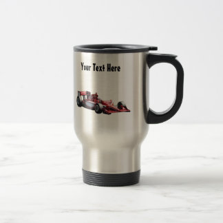 Customisable Plain Race Car Stainless Steel Travel Mug
