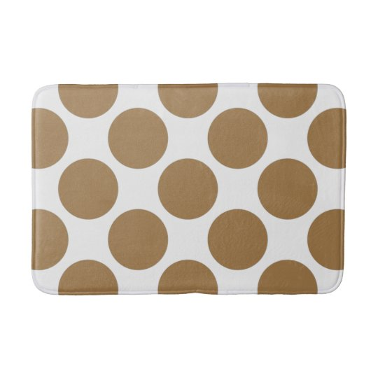 Customisable Polka Dots Pattern any Colour on Bath