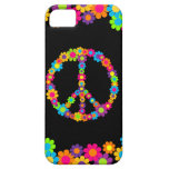 Customisable Pop Flower Power Peace Case For The iPhone 5
