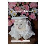 Customisable Pretty Cat Female Graduation