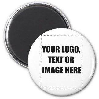 Customisable Products 6 Cm Round Magnet