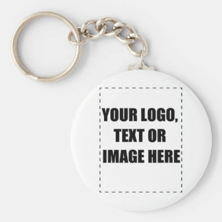 Customisable Products Basic Round Button Key Ring