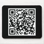customisable QR code Mouse Mat