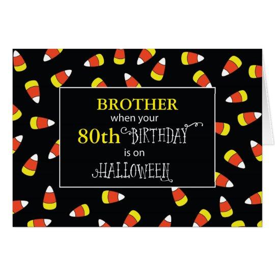 Customisable Relationship/Age Birthday Halloween Card