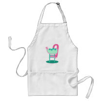 Customisable Retro 50's Sign Standard Apron