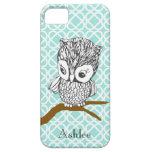 Customisable Retro Owl iPhone 5 Case