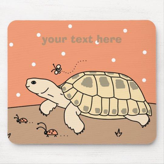 Customisable Russian Tortoise Mousepad