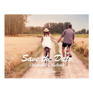 Customisable Save the Date Postcard
