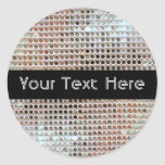 Customisable Sequin Sticker
