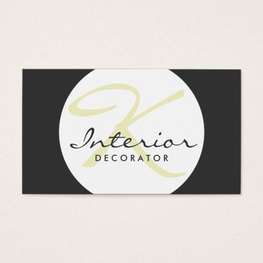 Customisable Simple Ball Interior Decorator Card