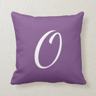 Customisable Single Letter Pillow