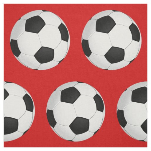 Customisable Soccer Fabric in YOUR COLOR Fabric