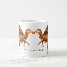 Customisable Spinosaurus Dinosaur Mug