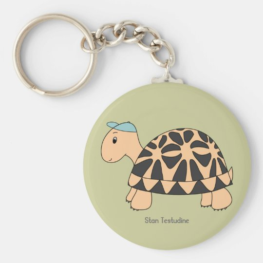 Customisable Stan Star Tortoise Keychain