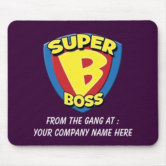 Customisable Super Boss Mousepad