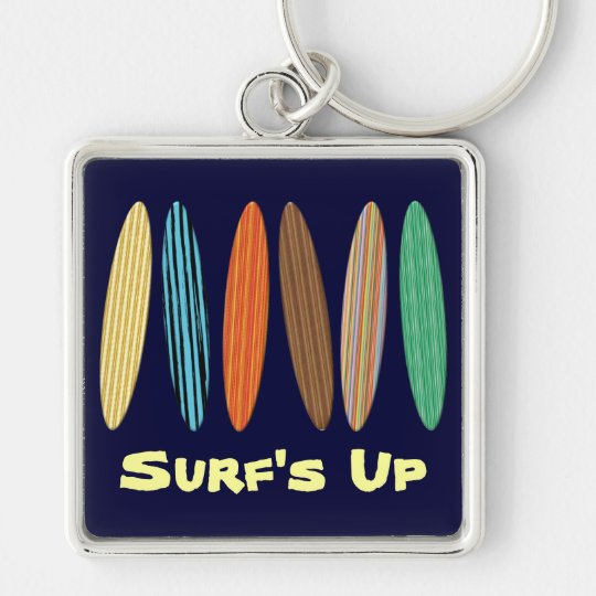 Customisable Surfboards Key Ring