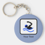 Customisable Swimmer Logo