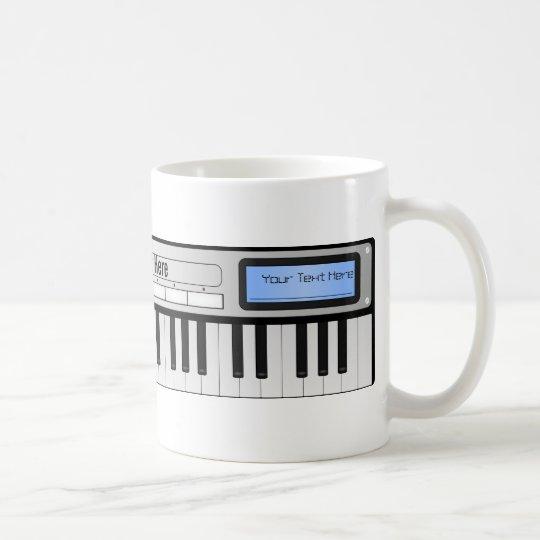 Customisable Synthesizer Keyboard Mug