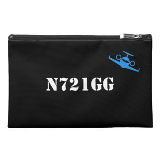 Customisable Tail Number Travel Accessory Bag