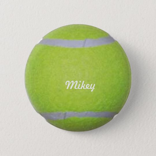 Customisable Tennis Ball 6 Cm Round Badge