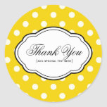 Customisable Thank You Sticker Label