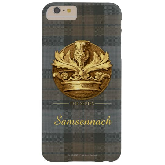 Customisable Thistle of Scotland Emblem Barely There iPhone