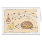 Customisable Tortoise Easter Card 2