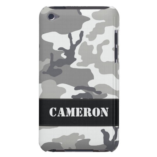 Customisable Urban Camo iPod Touch Case