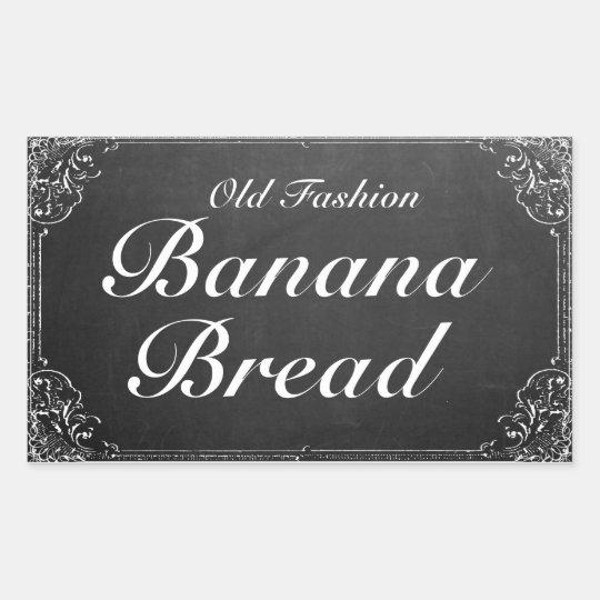 Customisable Vintage Ornate Frame Chalkboard label