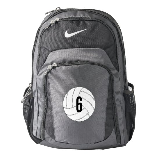 Customisable Volleyball Player Backpack