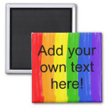 Customisable Watercolor Rainbow