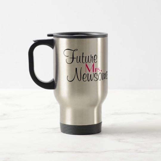 Customisable Wedding Day Mug