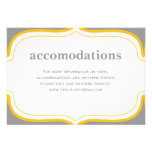 Customisable Wedding Enclosure Card Personalised Invitations
