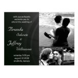Customisable  Wedding Invitation Photos  Images Postcard