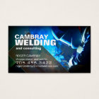 Customisable Welder Consultant Business Cards