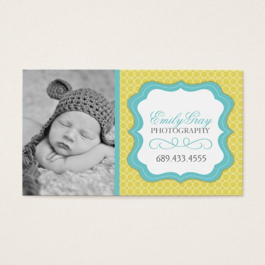 Customisable Whimsical Photographer Business Cards