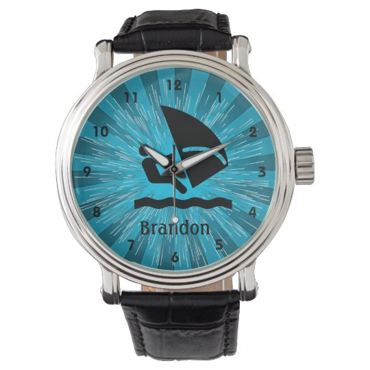 Customisable Windsurfing Design Watch