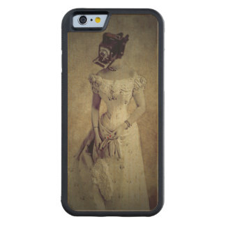 Customisable Wood Carved Iphone6 wood case Maple iPhone 6 Bumper Case