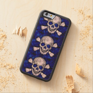 Customisable Wood Carved Iphone6 wood case Maple iPhone 6 Bumper