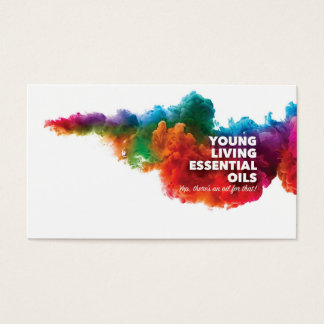 Customisable Young Living Business Cards