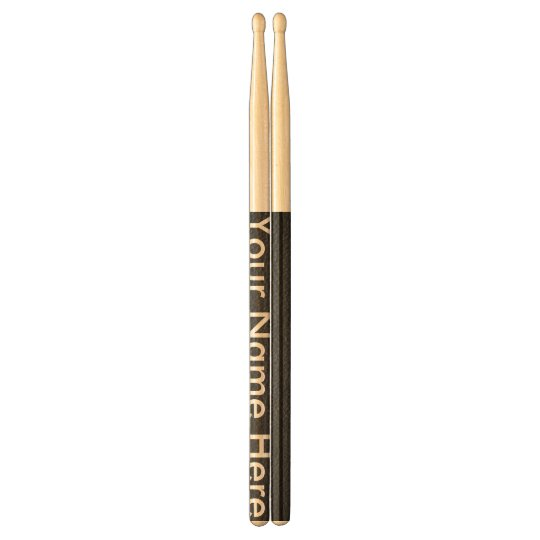 Customisation Personalised Rock Drum Sticks