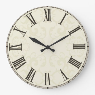 Customise add images text to vintage style clock