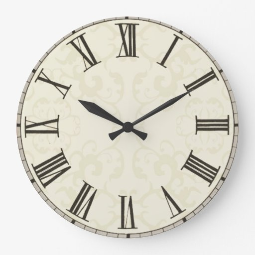 Customise, add images, text to vintage style clock